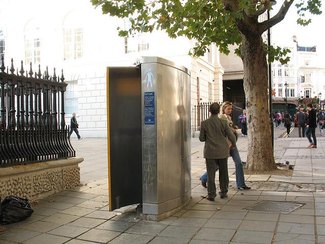Public urinal, Adelaide Street