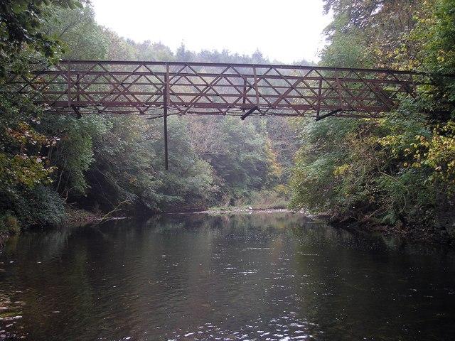 The Disused Drygrange Footbridge