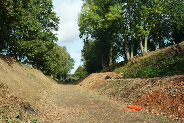 Bluebell Railway Trackbed, Near Imberhorne