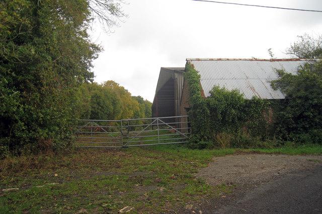 Farm Buildings on Bemzells Lane