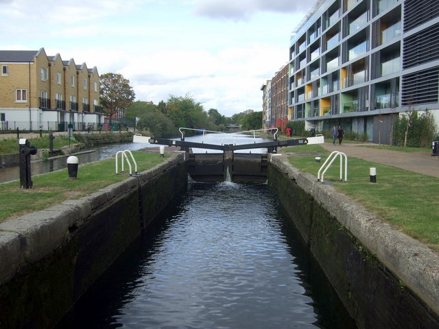 Johnson's lock and the canal north