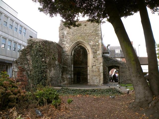 Ruins of St. Thomas a Becket chapel