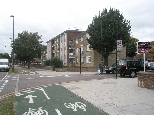 Junction of  Milford Road and the Uxbridge Road