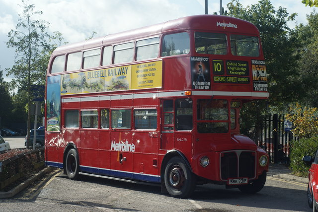 Routemaster bus at East Grinstead
