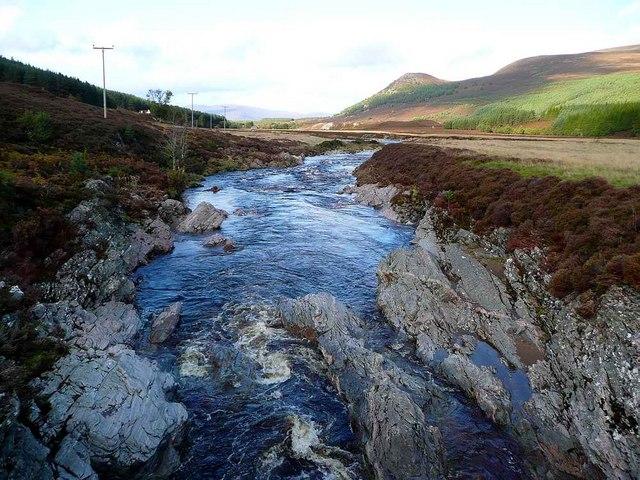 River Feshie upstream of Achleum