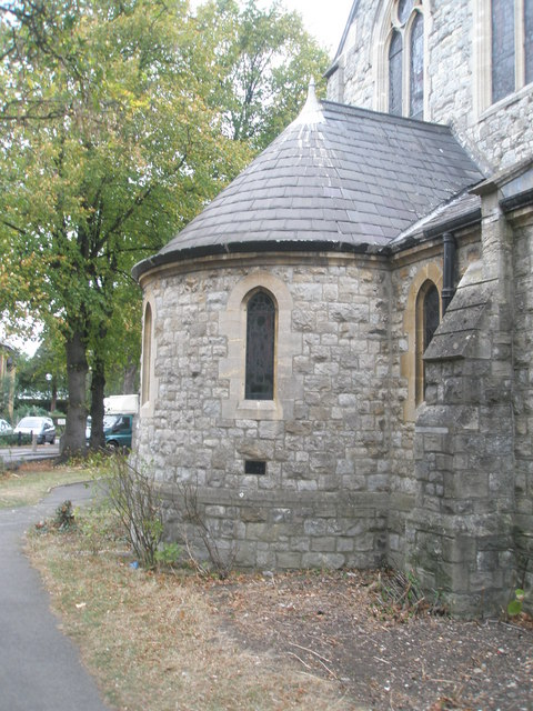 The apse at Holy Trinity
