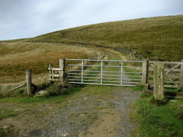 Gate on Gorple Road