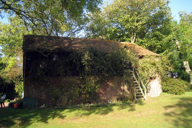 Oast House at Beech Court Gardens, Challock, Kent