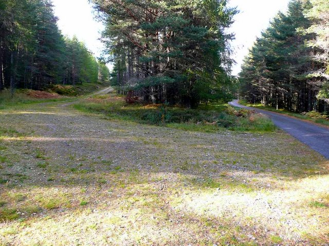 Track junction near Stronetoper