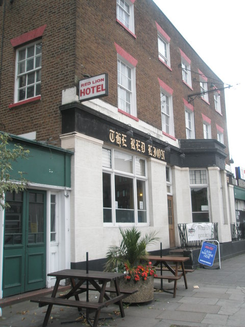 The Red Lion in the High Street
