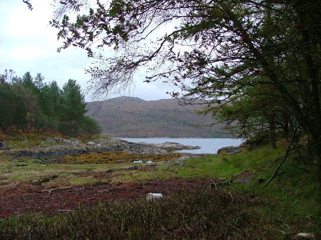 Inlet next to Salen nan Culag
