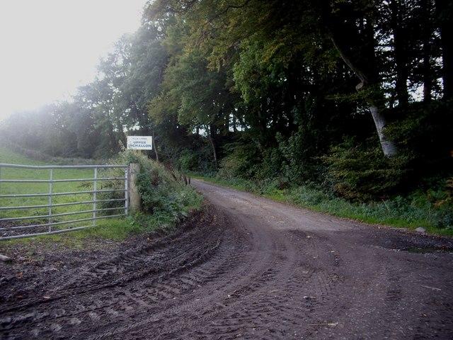 Access to Upper Inchallon