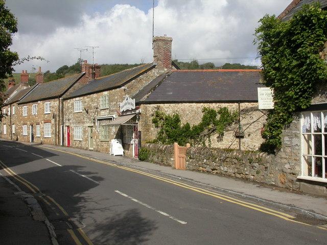 Abbotsbury, farm shop