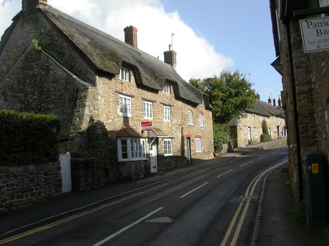 Abbotsbury, thatched cottages