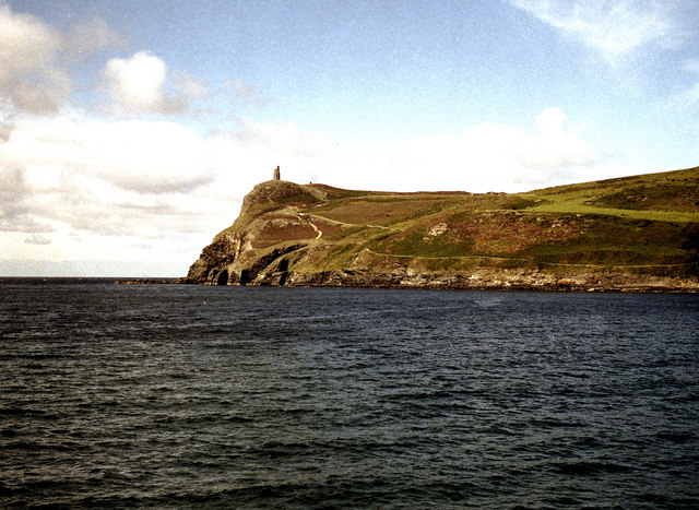 Bradda Head and the Milner Tower
