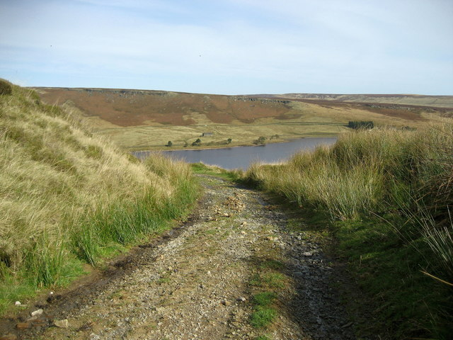 Gorple Gate above Widdop Reservoir