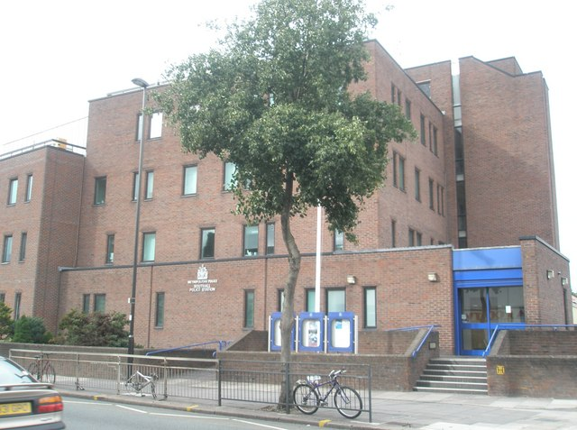 Main police station in the High Street, Southall