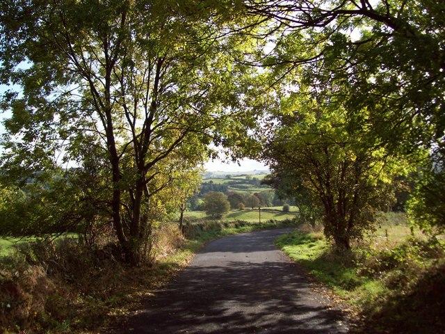 Shorts Lane near Dore