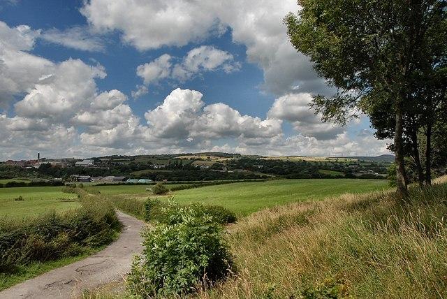 View towards Ashworth Moor