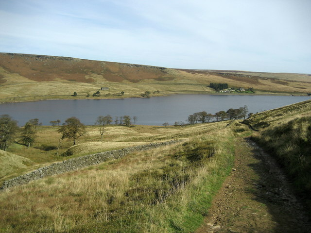 Gorple Gate descending to Widdop Reservoir