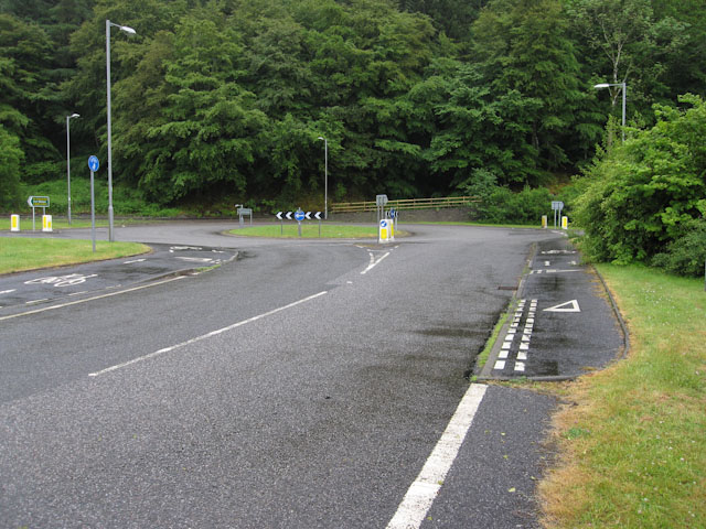 A828 roundabout