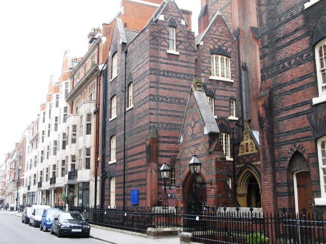 Margaret Street and All Saints Church, W1