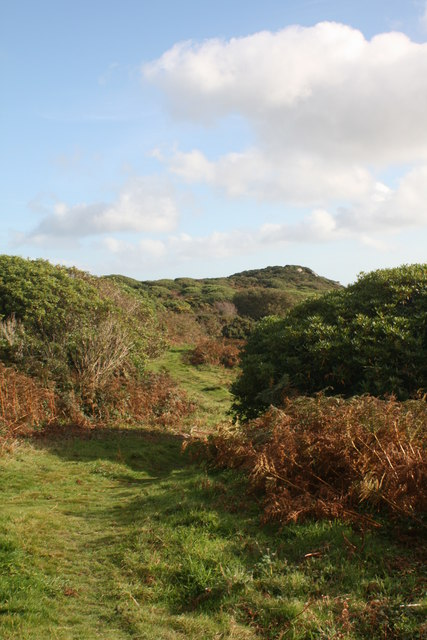 View to Trengwainton Carn