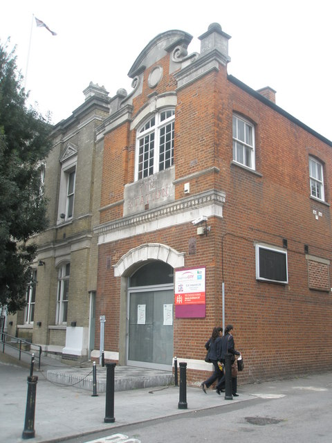 The old fire station in the High Street