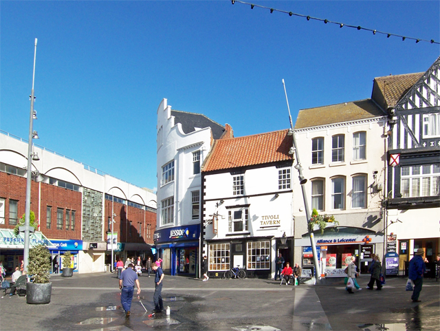 The Old Market Place, Grimsby