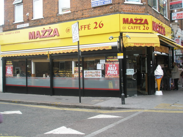 Mazza in The Broadway
