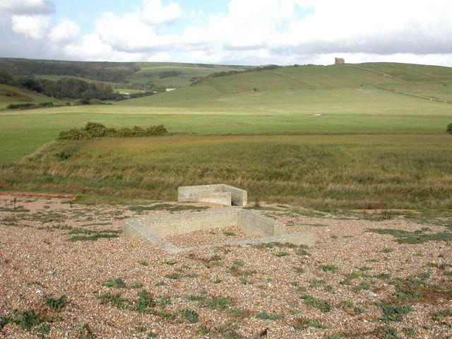 Abbotsbury, gun emplacements