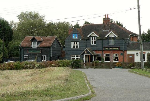 'The Greyhound' inn at Little Warley