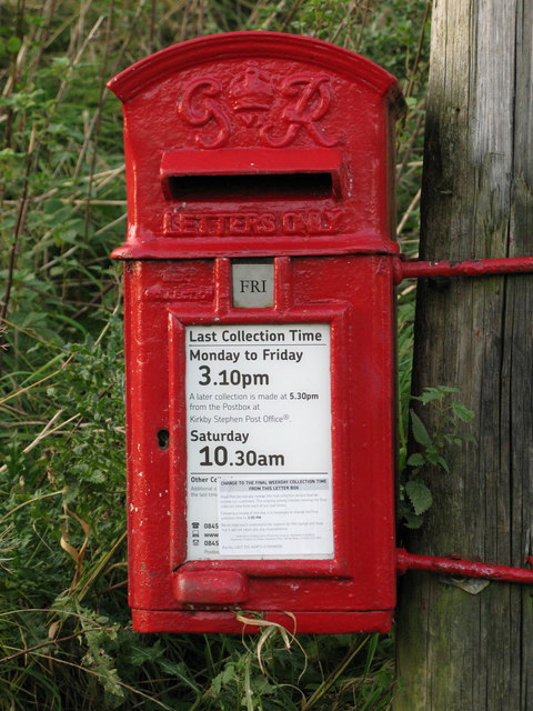 North Stainmore Postbox