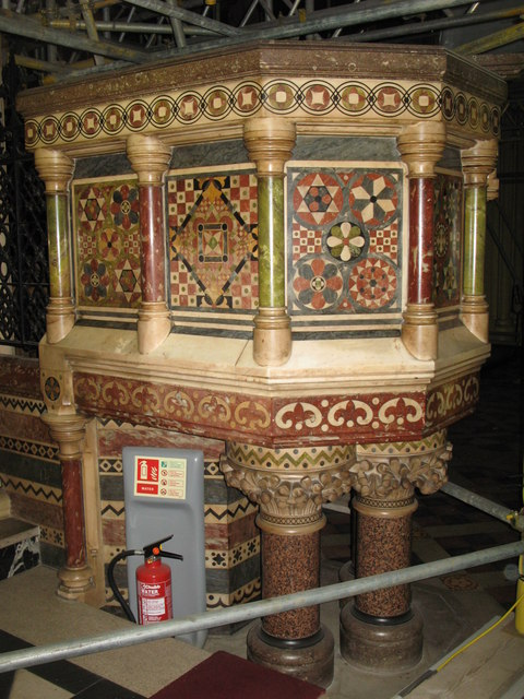 All Saints Church, Margaret Street, W1 - pulpit