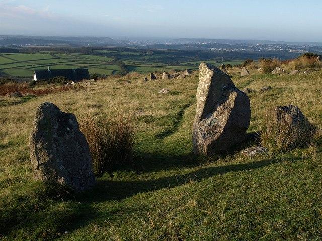 Stone row, Wotter