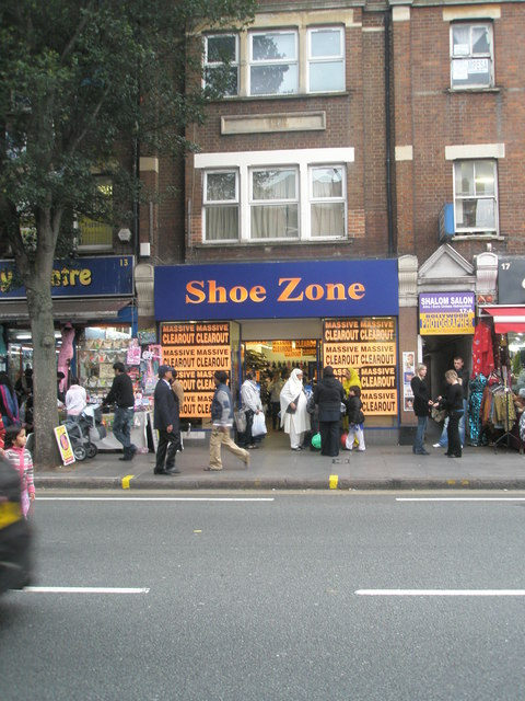 Shoe shop in The Broadway