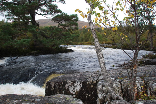 Waterfalls on the Garbh Uisge