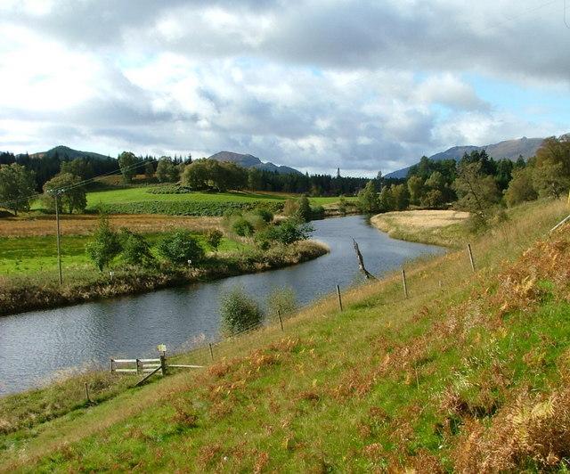 River Pattack at Kinloch Laggan