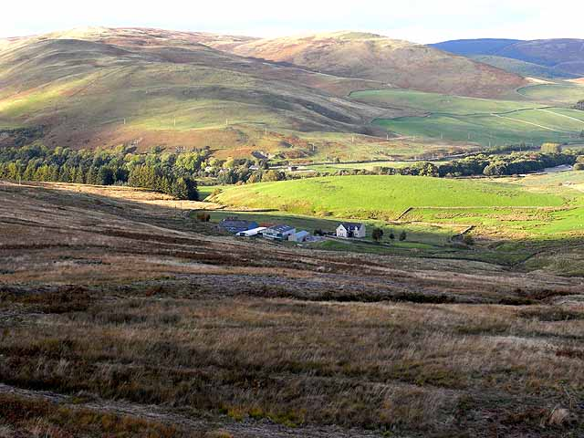 Wester Kershope and the Yarrow valley