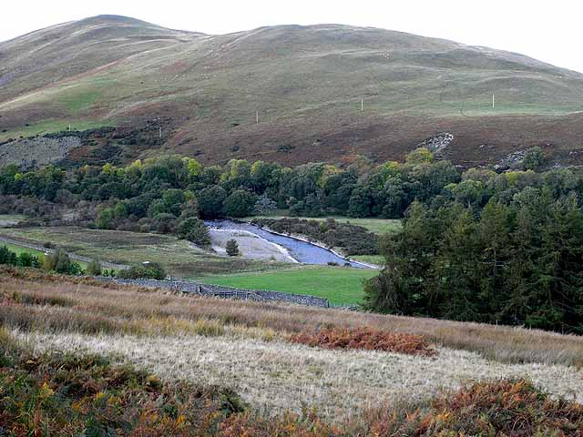 The Yarrow valley