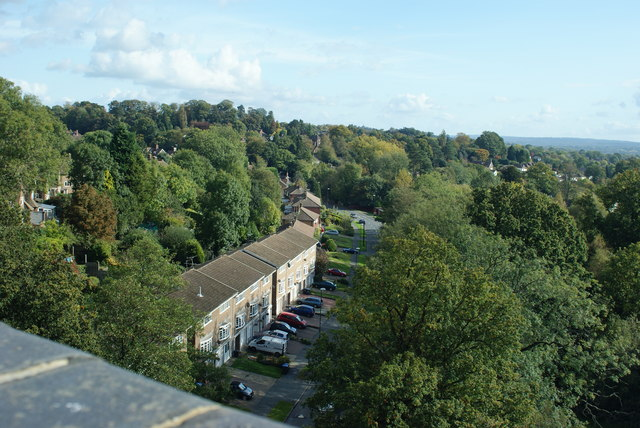 View From Imberhorne Viaduct, East Grinstead (1)