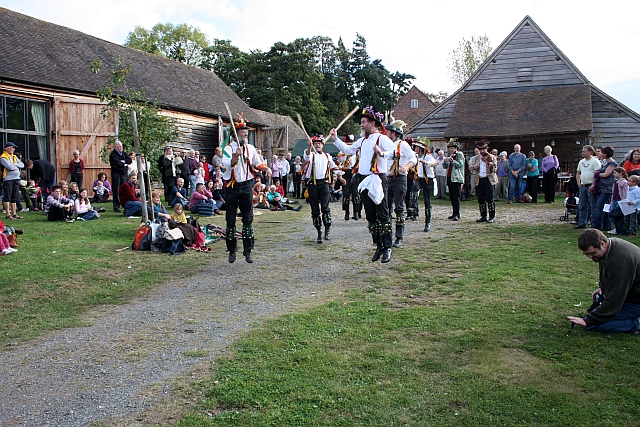 Leominster Morris Men at Hellens, Much Marcle