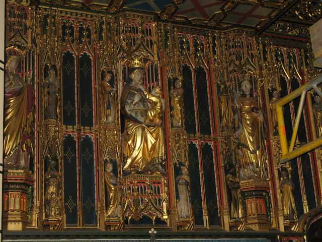 All Saints Church, Margaret Street, W1 - Lady Chapel