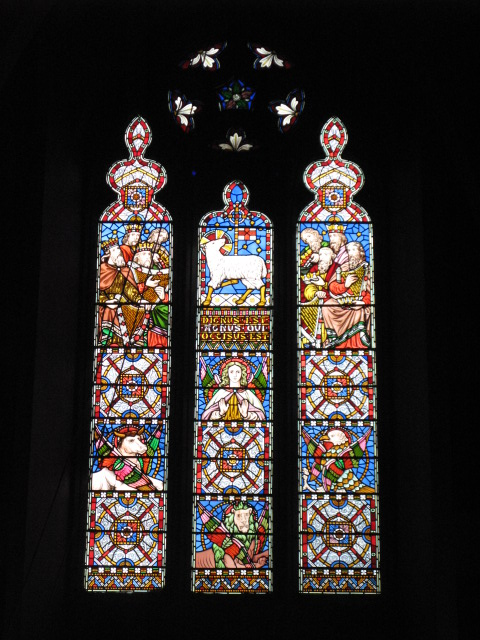 All Saints Church, Margaret Street, W1 - stained glass window