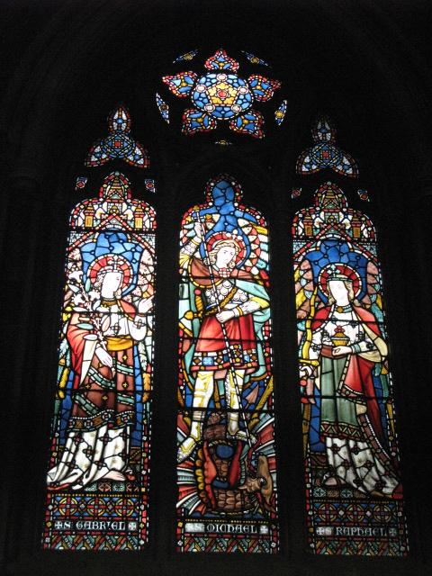 All Saints Church, Margaret Street, W1 - stained glass window (2)