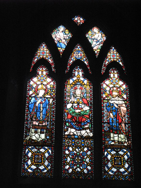 All Saints Church, Margaret Street, W1 - stained glass window (5)