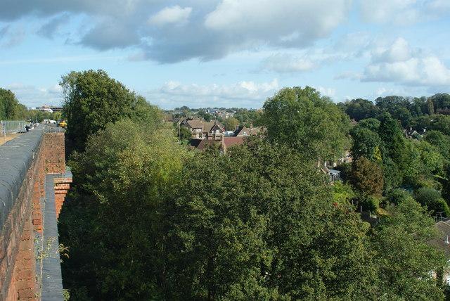 View From Imberhorne Viaduct, East Grinstead (2)