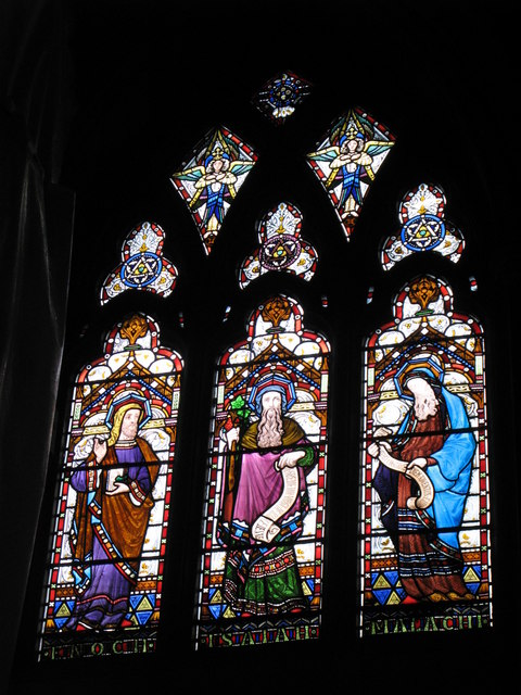 All Saints Church, Margaret Street, W1 - stained glass window (6)