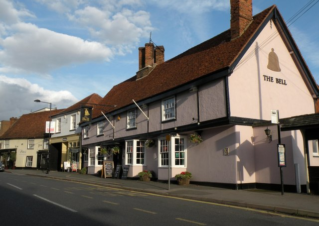 'The Bell' inn at Ingatestone