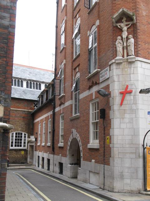 Marylebone Passage, W1